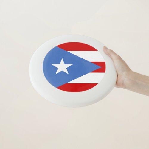 Flag of Puerto Rico Sports Wham_O Frisbee