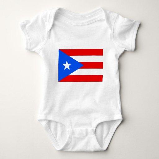 Flag of Puerto Rico T Shirt