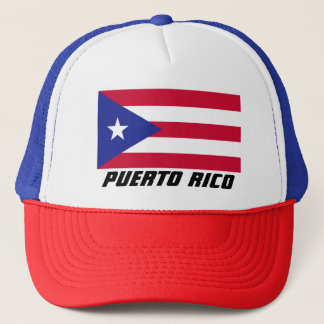 Flag of Puerto Rico Trucker Hat