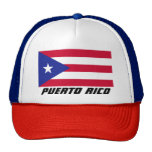 Flag of Puerto Rico Trucker Hat
