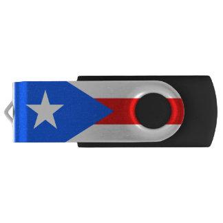 Flag of Puerto Rico USB Flash Drive