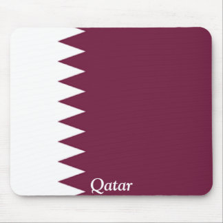 Flag of Qatar Mouse Pad