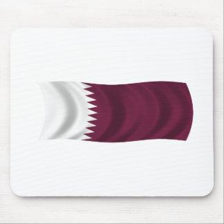Flag of Qatar Mousepads