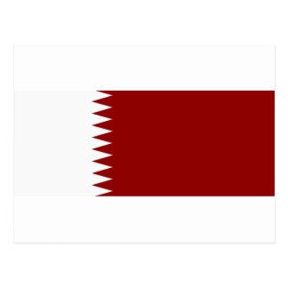 Flag of Qatar Postcard