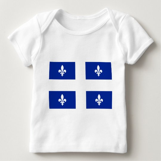 Flag of Quebec Baby T-Shirt