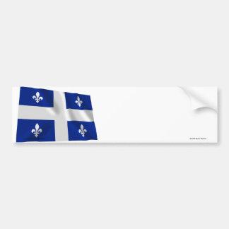Flag of Quebec, Canada Bumper Sticker