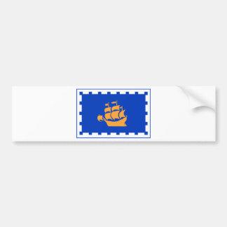 Flag of Quebec City Bumper Sticker
