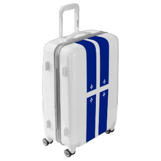 Flag of Quebec Luggage (Medium)