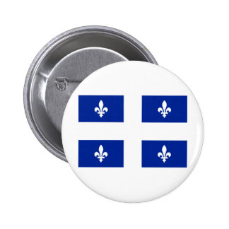 Flag of Quebec Pinback Button