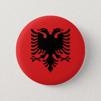 Flag of Republic of Albania Button