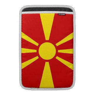 Flag of Republic of Macedonia MacBook Air Sleeves