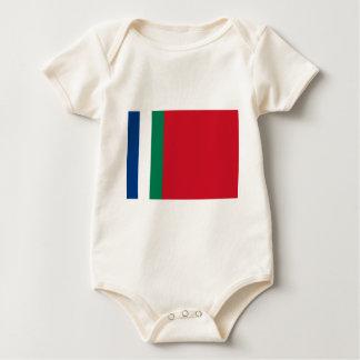 Flag of Republik Maluku Selatan (South Moluccas) Baby Bodysuit