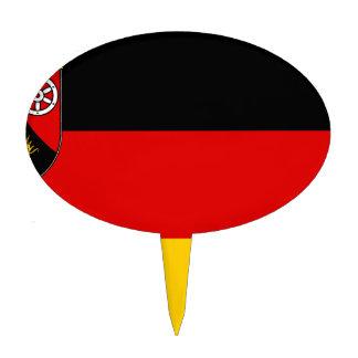 Flag_of_Rhineland-Palatinate Cake Topper