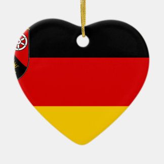 Flag_of_Rhineland-Palatinate Ceramic Ornament