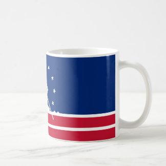 FLAG OF RICHMOND VIRGINIA COFFEE MUG