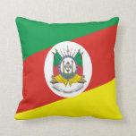 Flag of Rio Grande do Sul Throw Pillow