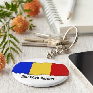 Flag of Romania Keychain