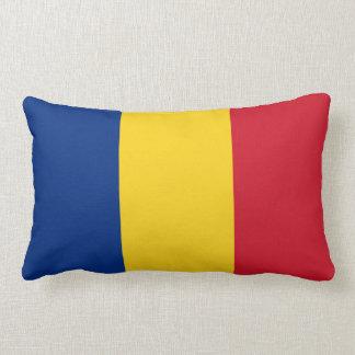 Flag of Romania Lumbar Pillow