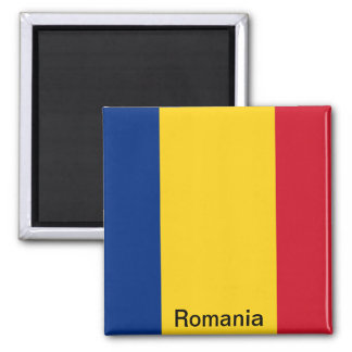 Flag of Romania Magnet