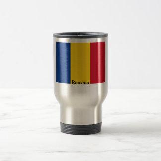 Flag of Romania Coffee Mugs