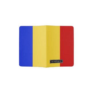 Flag of Romania Passport Holder