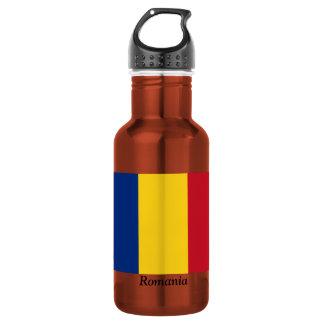 Flag of Romania 18oz Water Bottle