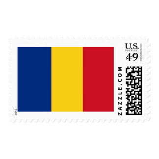 Flag of Romania Postage Stamps