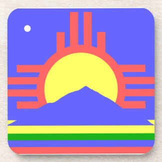 Flag of Roswell Drink Coaster