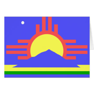 Flag of Roswell Greeting Cards