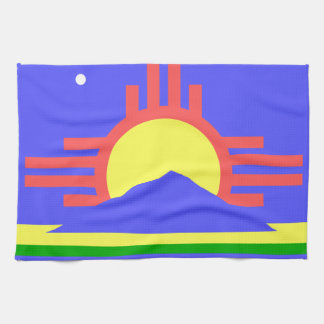 Flag of Roswell Kitchen Towels