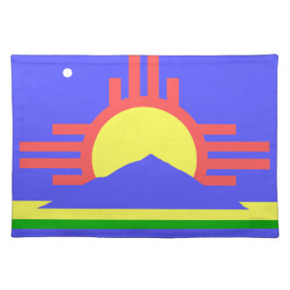 Flag of Roswell Place Mats