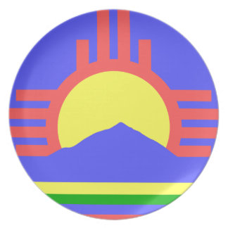 Flag of Roswell Plate