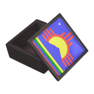 Flag of Roswell Premium Jewelry Boxes