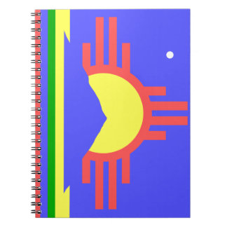 Flag of Roswell Spiral Note Books