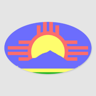Flag of Roswell Sticker
