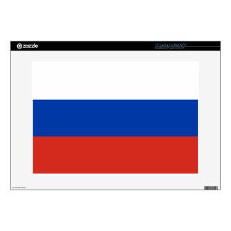 "Flag of Russia - Флаг России - Триколор Trikolor 15"" Laptop Decal"