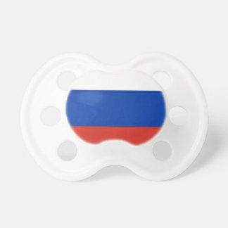 Flag of Russia - Флаг России - Триколор Trikolor BooginHead Pacifier
