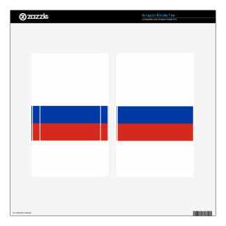 Flag of Russia - Флаг России - Триколор Trikolor Decals For Kindle Fire