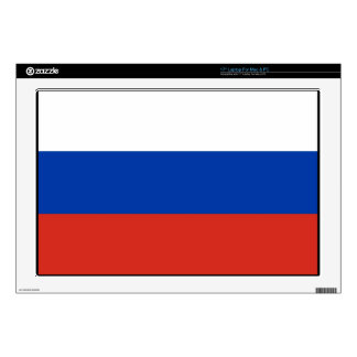 Flag of Russia - Флаг России - Триколор Trikolor Decals For Laptops