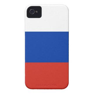 Flag of Russia - Флаг России - Триколор Trikolor iPhone 4 Case