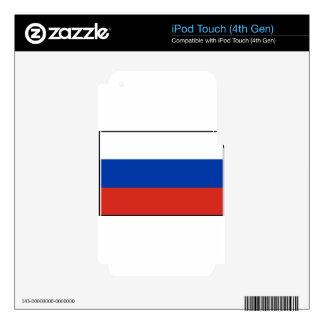 Flag of Russia - Флаг России - Триколор Trikolor iPod Touch 4G Decal