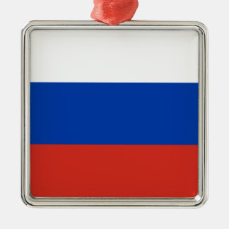 Flag of Russia - Флаг России - Триколор Trikolor Metal Ornament