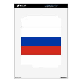 Flag of Russia - Флаг России - Триколор Trikolor Skin For iPad 2