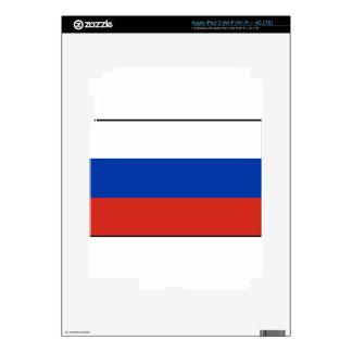 Flag of Russia - Флаг России - Триколор Trikolor Skins For iPad 3