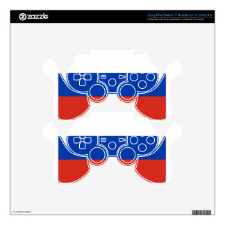 Flag of Russia - Флаг России - Триколор Trikolor Skins For PS3 Controllers