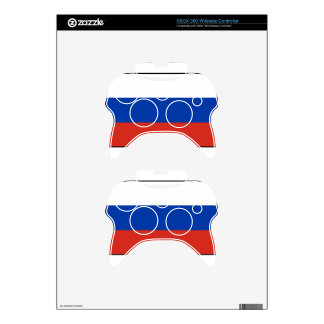 Flag of Russia - Флаг России - Триколор Trikolor Xbox 360 Controller Decal