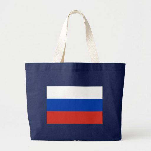 Flag of Russia Tote Bag
