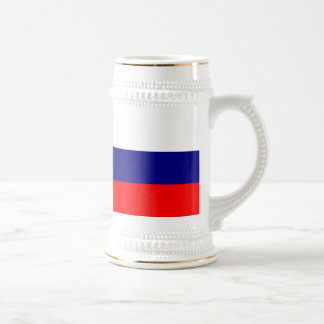 Flag of Russia Beer Stein