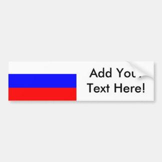 Flag of Russia Bumper Sticker