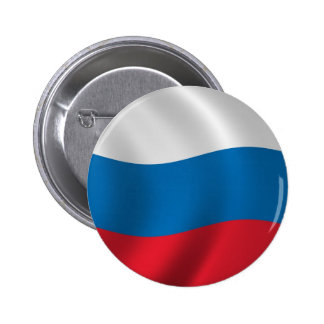 Flag of Russia Button